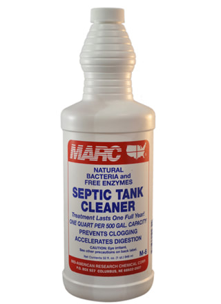 MARC 6 Septic Tank Cleaner - MID-AMERICAN RESEARCH CHEMICAL